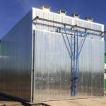 Корпус сушильной камеры 25-200 куб.метров