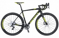 Addict CX 10 disc (2017) black/yellow 58см
