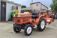 Японский мини трактор KUBOTA B1-15D