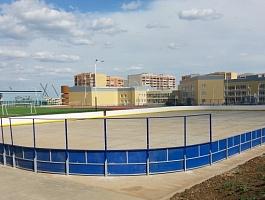 Хоккейная коробка, изготовление и монтаж. По доступной цене и в минимальный срок.