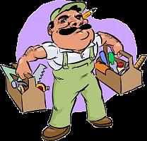 Услуги электрика, сантехника, плотника, столяра, ремонт стиральных машин