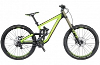 Gambler 720 (2016) black/green S