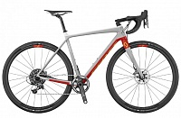 Addict Gravel 10 disc (2017) silver/red 58см