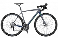 Addict Gravel 20 disc (2017) grey/blue 54см