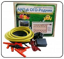 Набор капельного полива с контроллером и дат. влж. почвы.