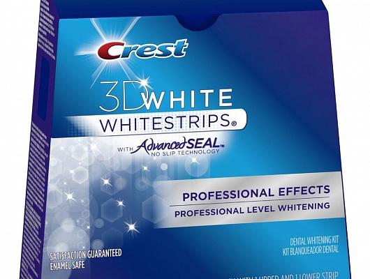 Crest Whitestrips 3D White Professional Effects отбеливатель зубов