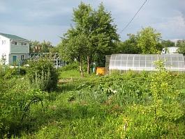 Садовый участок в черте города