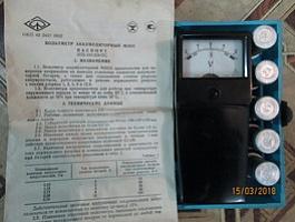 Вольтметр аккумуляторный М 20 33 НОВЫЙ