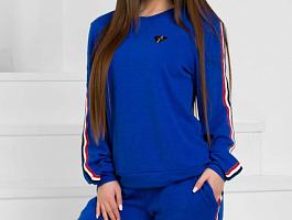 Женский спортивный костюм 18187 электрик