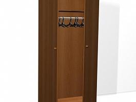 Шкаф для одежды ДСП одностворчатый ,шкаф внутри полка и штанга ,шкаф по низкой цене от производителя оптом для гостиниц.общежитий,хостела у
