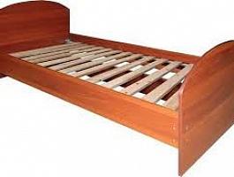 Кровать ЛДСП с ламелями,кровати для пожилых людей в медицинские учреждения