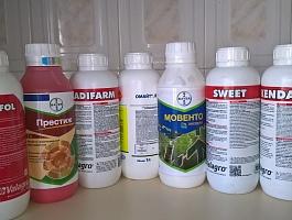 Удобрения, стимуляторы роста и средства защиты для растений