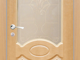 Дверь остеклённая
