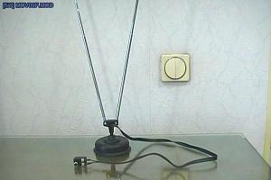Антенна телескопическая ДМВ+МВ