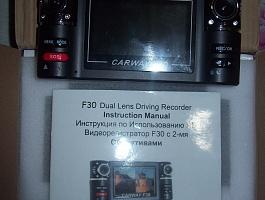Видеорегистратор F30 c 2-мя объективами