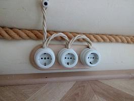 Услуги по электромонтажу деревянных домов, бытовок, постройках