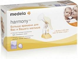 Молокоотсос ручной Medela  Harmony ручной двухфазный с соской