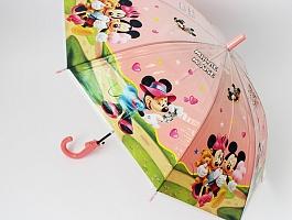 Зонты детские полуавтоматические со свистком D-84см.