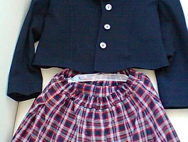 Школьная форма на девочку 1-2 класс комплект
