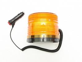 Маячок светодиодный проблесковый (мигалка) «Блеск-3 VIP» оранжевый