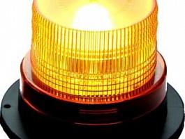 Маячок светодиодный проблесковый (мигалка) «Блеск-247Н» оранжевый