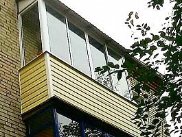 Остекление лоджий и балконов под ключ в Видном