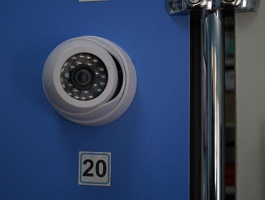 Камера видеонаблюдения 2Mpx с IR-подсветкой