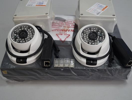 Комплект IP-видеонаблюдения