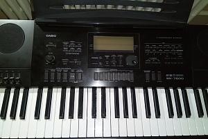 Синтезатор. CASIO WK-7600 и комбик BELKAT