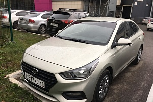 Аренда Hyundai Solaris АКПП 2018 Казань