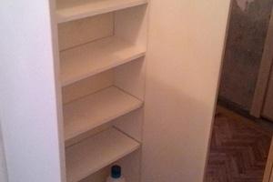 Шкаф навесной белый