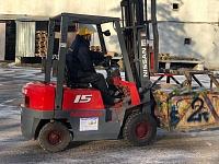 БУ АВТОПОГРУЗЧИК НИССАН FJ01A15 1500 кг / в ОТЛИЧНОМ состоянии