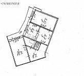 Продается 2-х комнатная квартира нестандартной планировки 74м2, г. Симферополь