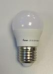 Лампа светодиодная Feron 5Вт Е27 2700К шар