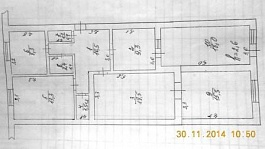 Продаю 5 и более ком. квариру, общ.п. от 80 до 120 м², этаж первый
