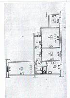 Продаю 4-х ком. кваритру, общ.п. от 50 до 80 м², этаж не первый и не последний