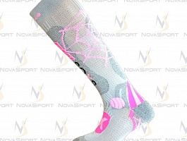Носки Enforma Ski Pro Compression Metal silver spider 4-1031