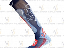 Носки Enforma Ski Pro Compression Metal blue 4-1031