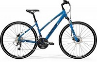 Велосипед Merida Crossway 40D LADY Blue/White/Black (2017)