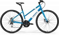 Велосипед Merida Crossway Urban 20MD LADY Fed Metallic Blue/White (2017)