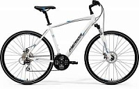 Велосипед Merida Crossway 20MD White/Blue/Black (2017)