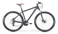 Велосипед Merida Big Seven 15MD Matt Black/Red/Grey (2017)