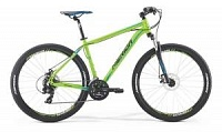 Велосипед Merida Big Seven 10MD Matt Green/Black/Blue/Black (2017)