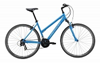 Велосипед Merida Crossway 5-V Lady Blue/White (2017)