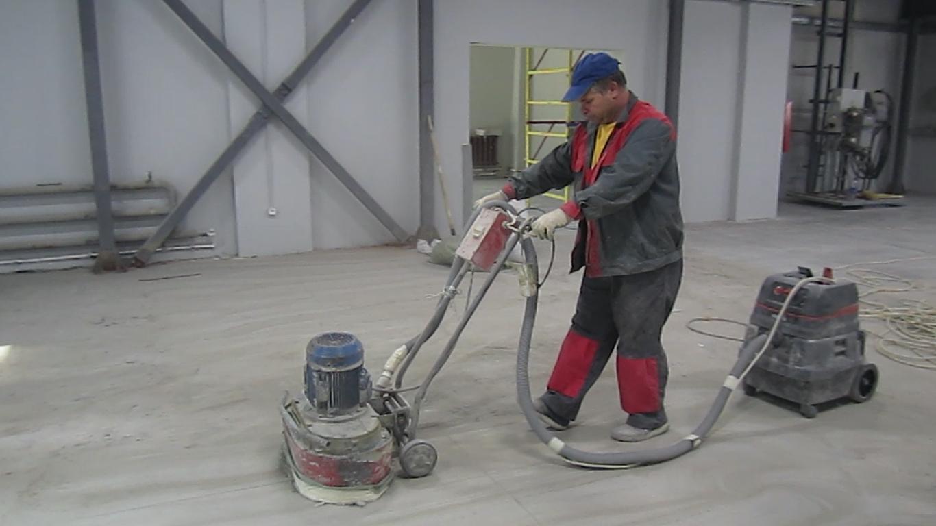 шлифовка бетона стоимость