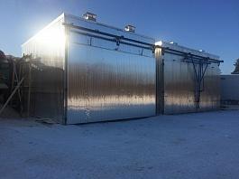 Корпус сушильной камеры алюминий, 25-200 куб.метров