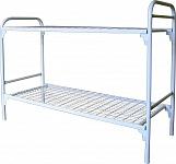 Дешевые металлические кровати для времянок и бытовок оптом