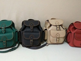 Женские кожаные рюкзаки от производителя