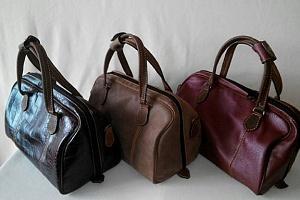 Сумки, рюкзаки, портфели, саквояжи, кошельки из натуральной кожи от производителя
