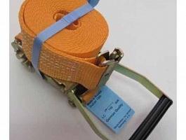 Стяжной ремень с рельсовым захватом (ласточка) DoZurr 1500/hook 1826/50 mm. - 4 m.kaidzen